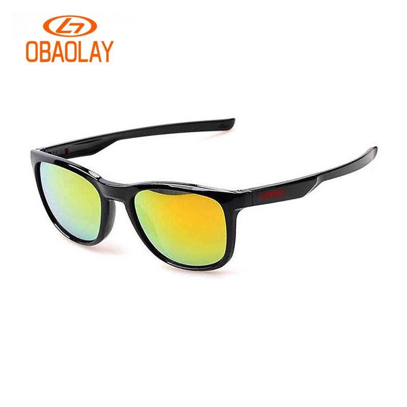 OBAOLAY mens sunglasses brand designer mens driving sunglasses matt black frame o glasses women small UV400 gafas de sol O9340