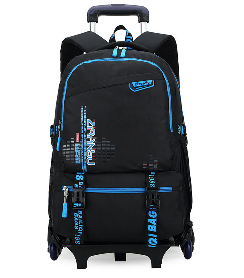 New Two Wheels Kids Trolley School bags Boys Children Removable Backpack For Children Rolling Backpacks Wheels Girls Schoolbag kids trolley school bags for boys children backpack 2 wheels rolling backpacks removable book bag girls schoolbag mochila