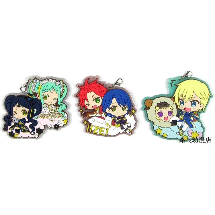 Japan Anime Pripara Acrylic Keychain KeyRing Strap Charm IdolTime PriPara Manaka