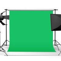 10X10ft/300x300CM Chromakey Green Cloth Screen Backdrop Photo Green Screen Muslin Photography Studio Background