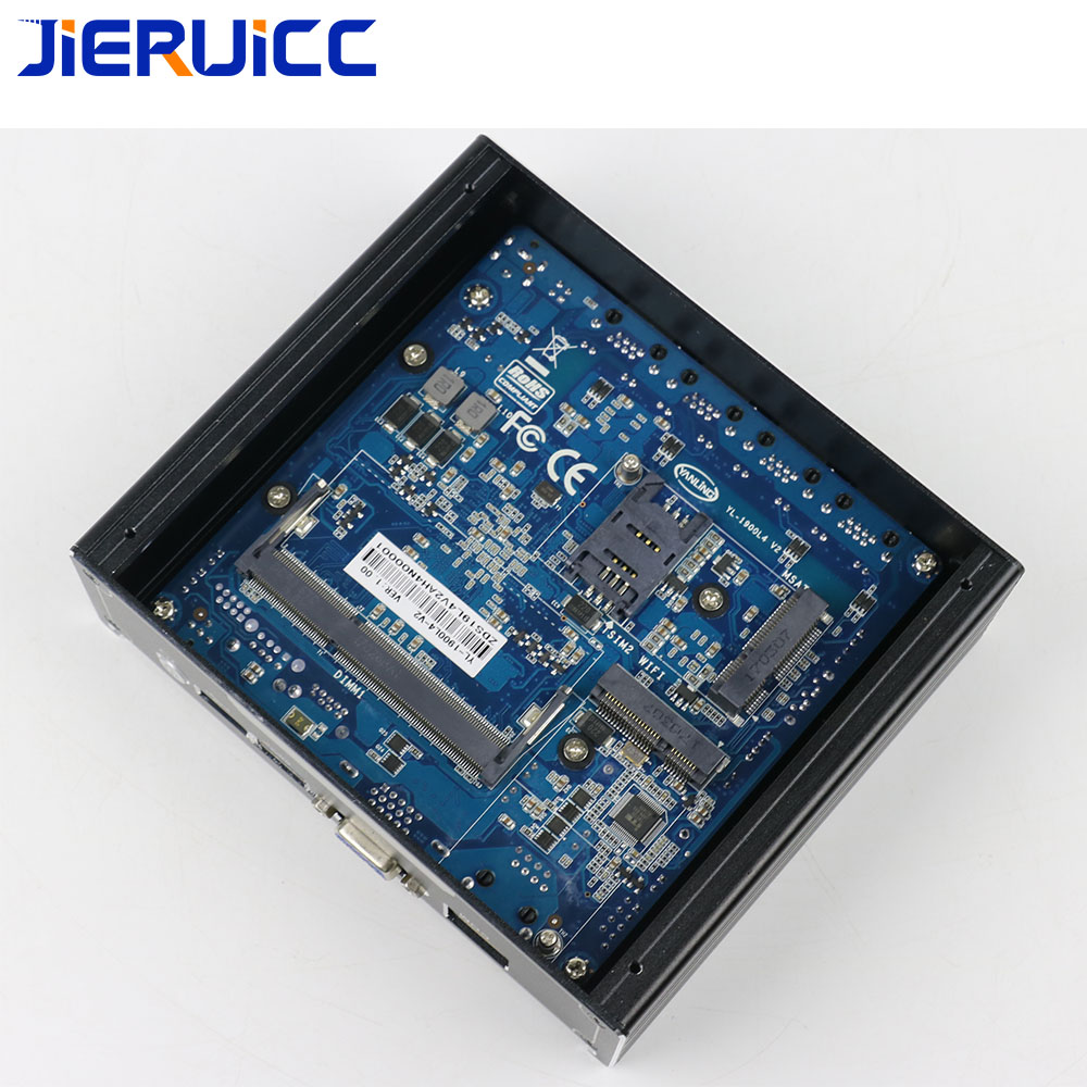 Image 5 - 4lan firewall mini pc/vpn router JIERUICC JC4L 4 INTEL 82583V 1000M LAN intel celeron j1900 quad core 2.41Ghz quad core CPU-in Mini PC from Computer & Office