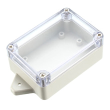Uxcell 85x58x33mm /100x68x50mm /118x60x32mm Electronic Waterproof Sealed IP65 ABS Plastic DIY Junction Box Enclosure Case Clear 290 260 80mm 4 pcs lot ip55 waterproof plastic enclosure for electric abs electronic cabinet junction enclosure housing diy box