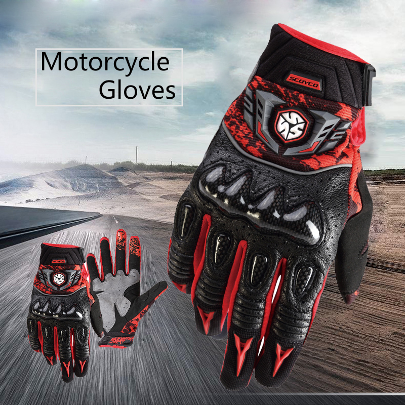 cheap new lifestyle meet Scoyco Moto Guanti Pieni della Barretta Per Yamaha Kawasaki ...
