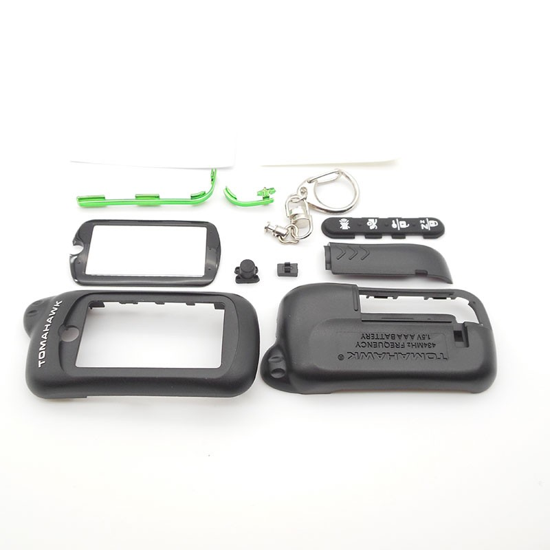 Русской версии Z5 чехол Брелок Для Томагавк Z5 Z3 ЖК-дисплей двухполосная! Автосигнализация с пультом дистанционного управления