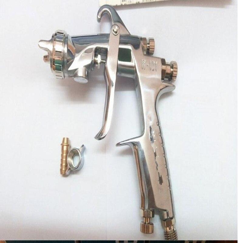 цена на 10pcs/lot Spray Gun Gravity Feed Type W-101-134G Paint Gun (W-101-G) 1.3MM With 400ML Cup Of Paint