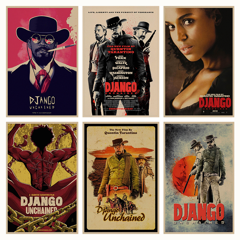 django-unchained-quentin-font-b-tarantino-b-font-retro-poster-retro-kraft-paper-bar-cafe-home-decor-painting-wall-sticker