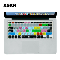 For Adobe Peremiere Design Shortcut Silicone Keyboard Cover Skin For Macbook Air 13 Inch For Pro