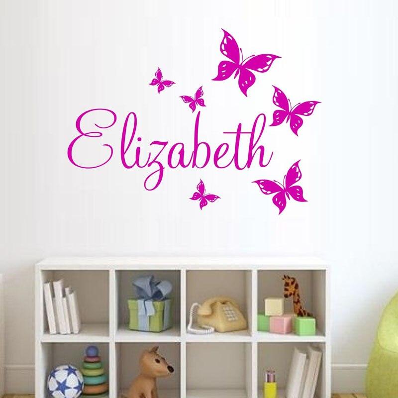 Livraison Gratuite Papillons Stickers Muraux Home Decor Enfants