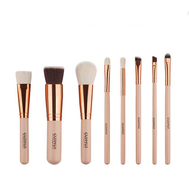 Nueva caliente 12 unids/set 2016 naked Maquillaje Cosmético Pinceles Set profesional Polvos Sombra de Ojos Cepillo Herramienta