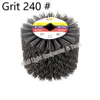 DuPont Wire Drawing Wheel Brush Drum Burnishing Polishing Wheel Grit 240