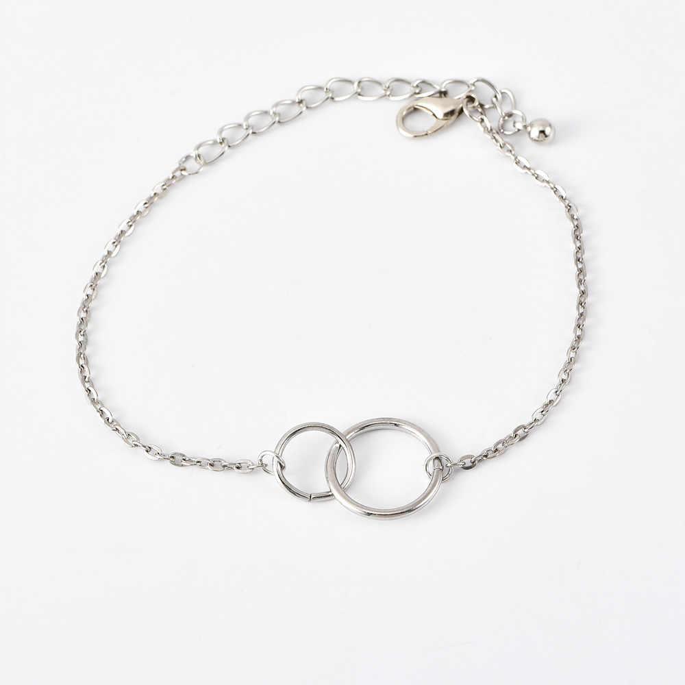 DIEZI Модный золотой браслет на запястье для Свадьбы Роскошные модные браслеты со стразами для женщин 2019 Новый Подарочный браслет для девочек ювелирные изделия