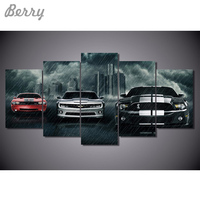 New Car 5d Diamond Embroidery 5pcs Kits Cross Stitch Home Decor Diamond Painting Mosaic Diy Car