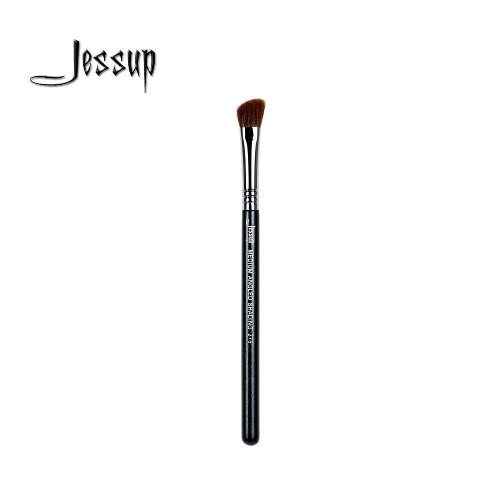 Jessup High Quality Materials Professional Face brush Makeup brushes Medium Angled Shading eye shadow brush 275 top quality foundation brush angled makeup brush