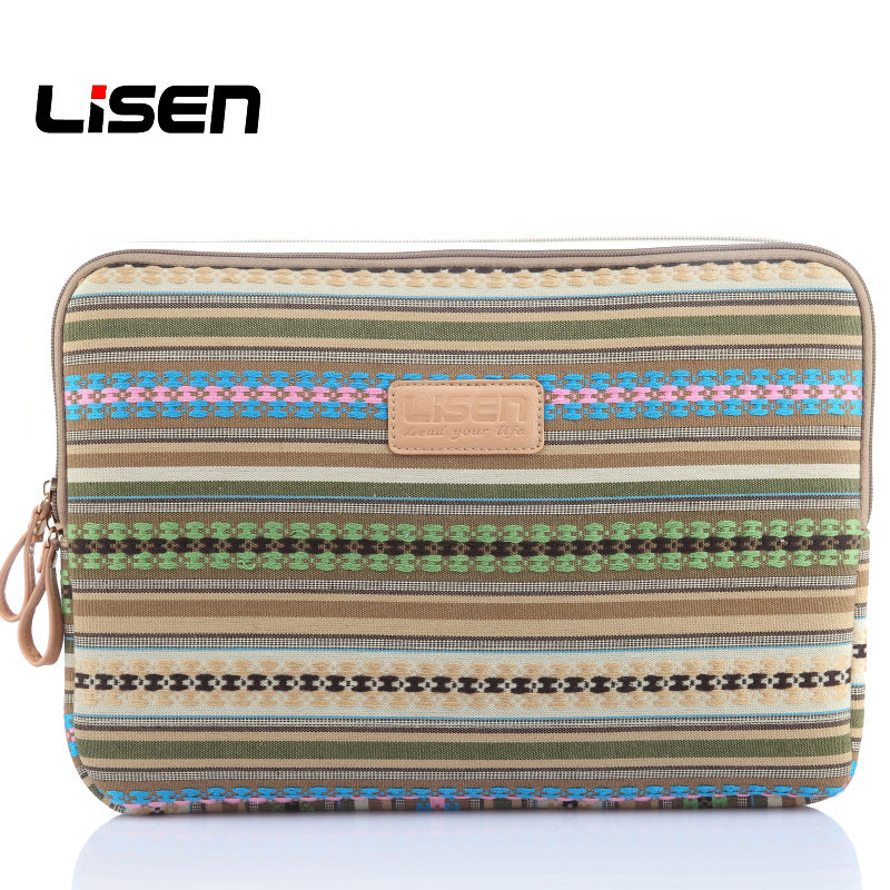 Lisen 2017 New Laptop Sleeve Tablet Bag for Macbook Air Pro Retina 11 13 14 15 Notebook Computer Case Bag for Macbook