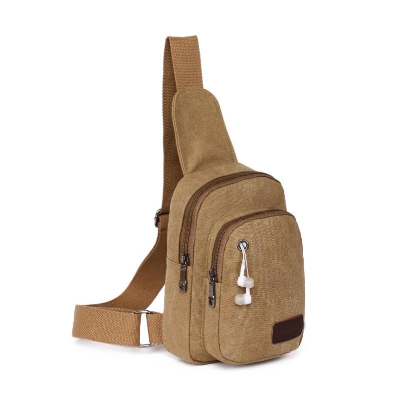 135b34c12f1e Новый Корейских мужчин и женщин пара вскользь талии пакет/плечо езды сумка/простой  холст подростковой школы студент мешок купить на