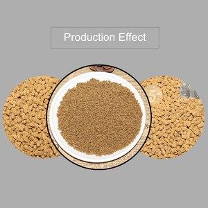 Image 5 - 1 tamanho manual 6/2. 5/2/1.5/1mm da tomada da máquina de processamento da alimentação do conjunto quatro lâminas pet bird hamster animais pequenos processamento da alimentação