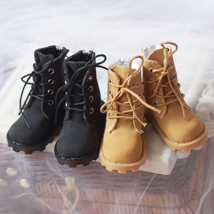 все цены на NEW 1/3 1/4 1/6 BJD SD MSD YOSD Doll Shoes Brown / Black Handsome Fashion Doll shoes