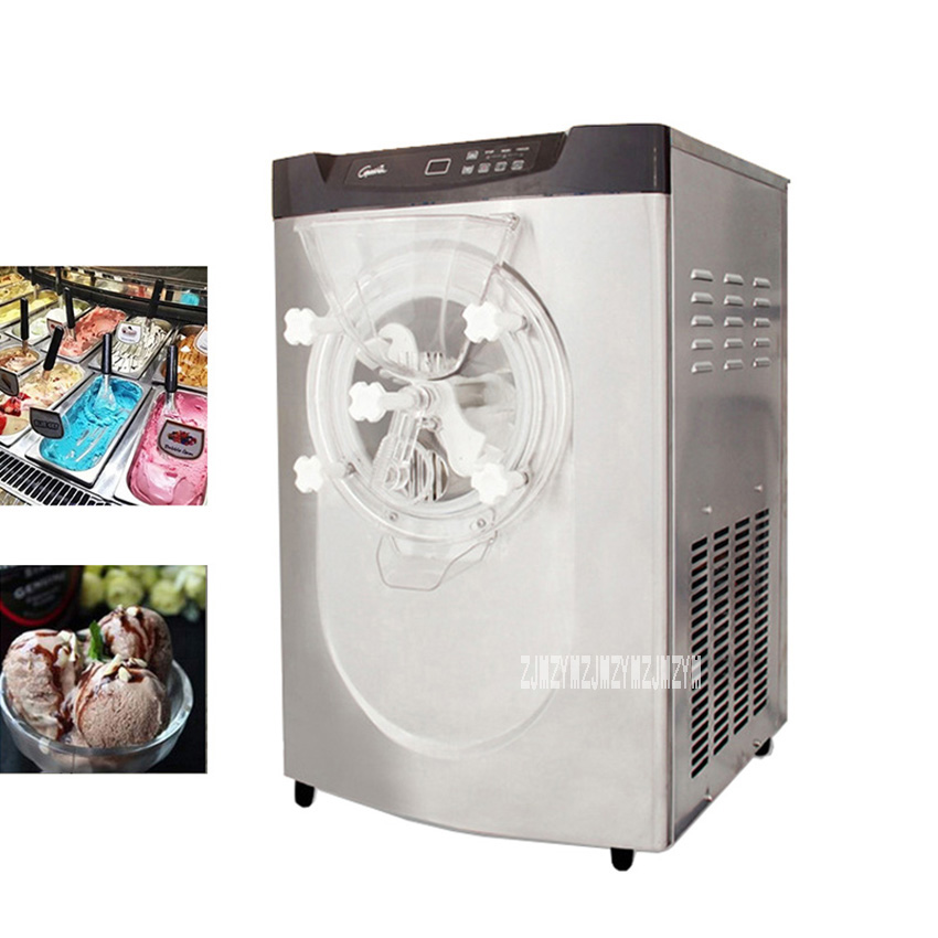 BQ22T 2000W 5.1L Stainless Steel Commercial Desktop Large Frozen Hard Ice Cream Making Machine Ice Cream Maker 220V edtid new high quality small commercial ice machine household ice machine tea milk shop