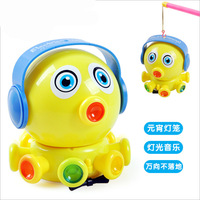 Dibang Cool Colorful Light And Music Cute Octopus Toys Electric Cartoon Hanging Lanterns For Baby Kid