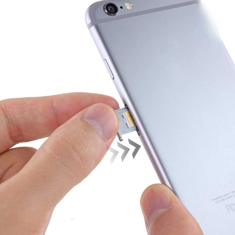 10pcs Slim Sim Card Tray Pin Eject Removal Tool Needle Opener Ejector for Most Smartphone NK-Shopping