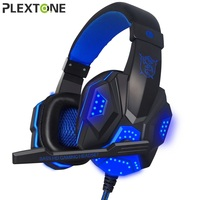 PLEXTONE Best 3 5mm Earphone Gaming Headset Gamer PC Headphhone Gamer Stereo Gaming Headphone With Microphone