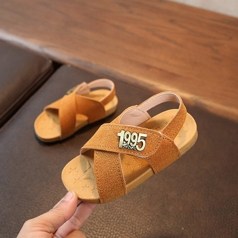 Sandals For Boy 2018 Summer New Childrens Shoes Boys Anti-skid Kids Summer Sandals Soft Baby Shoes Casual Boys Beach Shoes