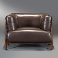 Intuitive Home Black Walnut Nordic Simple Solid Wood Sofa Combination