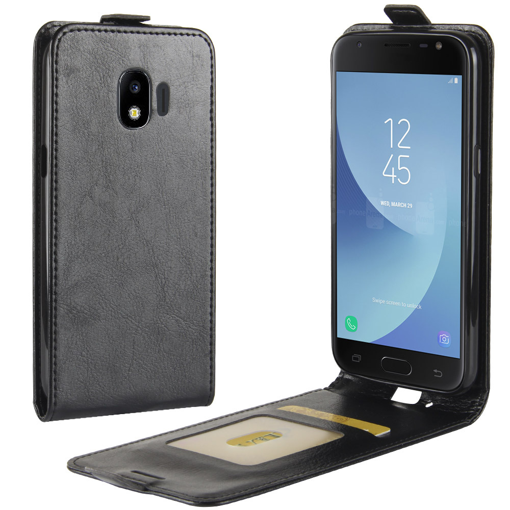 New Vertical Wallet Leather <font><b>Flip</b></font> <font><b>Case</b></font> for <font><b>Samsung</b></font> Galaxy J3 <font><b>J5</b></font> J7 <font><b>2017</b></font> Cover <font><b>Case</b></font> for Galaxy J8 J6 J4 Plus J2 Pro 2018 Phone Bag image