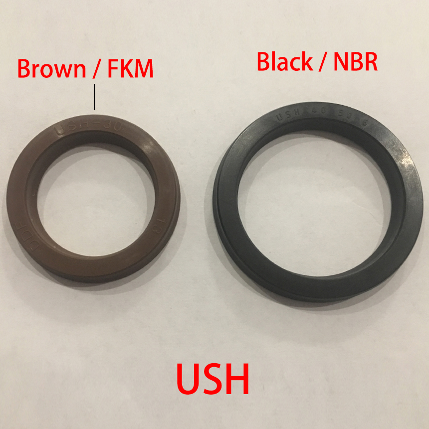 USH 12*20*5 12x20x5 14*22*5 14x22x5 16*24*5 16x24x5 Black NBR Rubber Hydraulic Cylinder Piston Rod U Lip Gasket O Ring Oil SealUSH 12*20*5 12x20x5 14*22*5 14x22x5 16*24*5 16x24x5 Black NBR Rubber Hydraulic Cylinder Piston Rod U Lip Gasket O Ring Oil Seal
