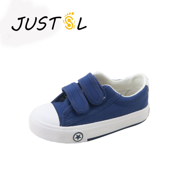 2016 bambini di autunno di colore solido tela casual shoes ragazzi ragazze  shoes fashion sneakers outdoor 17180402c8c