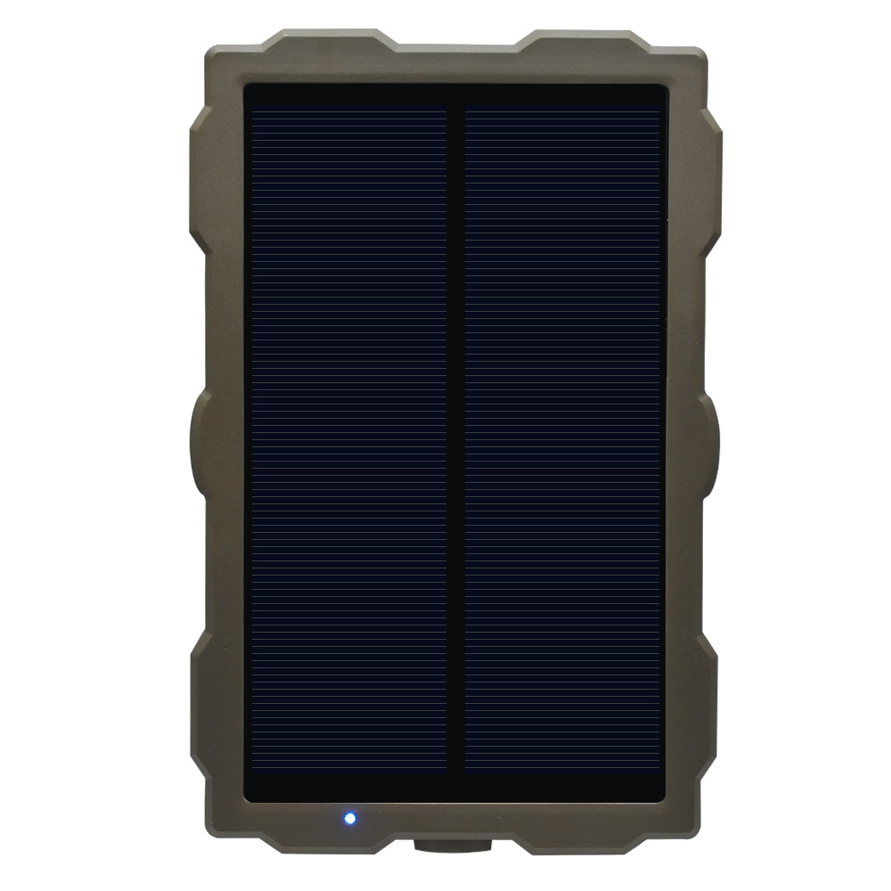 Polysilicon solar panels outdoor hunting, camera hunting solar charger water proof constant current and voltage stabilizing
