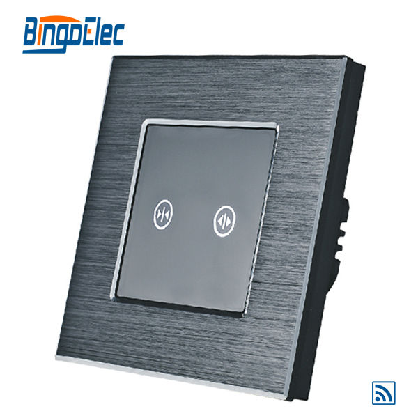 EU/UK remote roller shutter switch,black curtain switch,AC110-240V,Hot sale цена