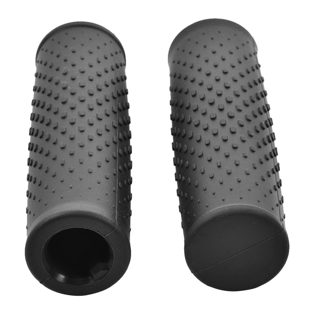 2PCS Handlebar Grips Scooter Silicone Handlebar Grips Anti-slip Soft Rubber Bar Grips for Xiaomi Scooter M365 Accessories