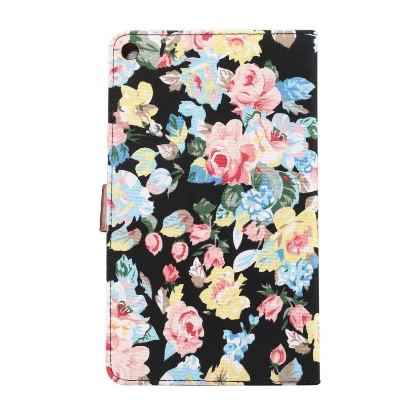 Dulcii для Huawei MediaPad м 3 Lite Чехол Довольно Цветок Бумажник Стенд кожаный Smart Cover для Huawei MediaPad M3 Lite 8.0 дюймов