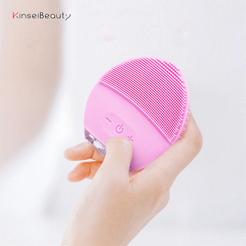 A variety of styles Base Charge Deep Cleaning Face Electric Face Cleanser remove Make-up Residue Dry And Wet Face Cleaning Brush