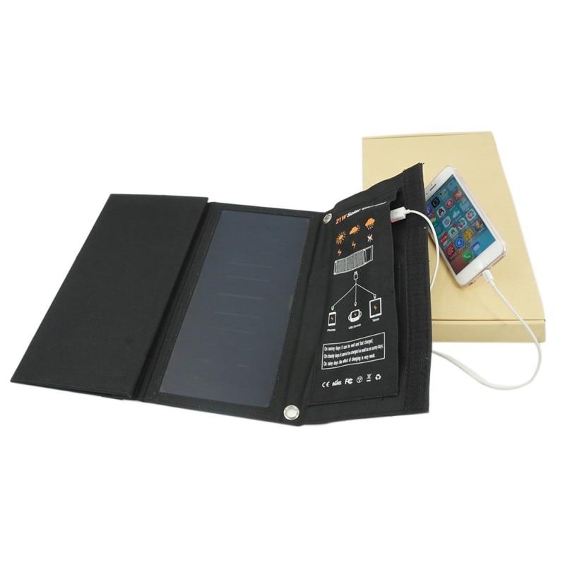 21 W Double USB Portable Pliant Chargeur Solaire Power Panel Chargeur de Secours Téléphone Tablet camping en plein air équipement de Survie Outils