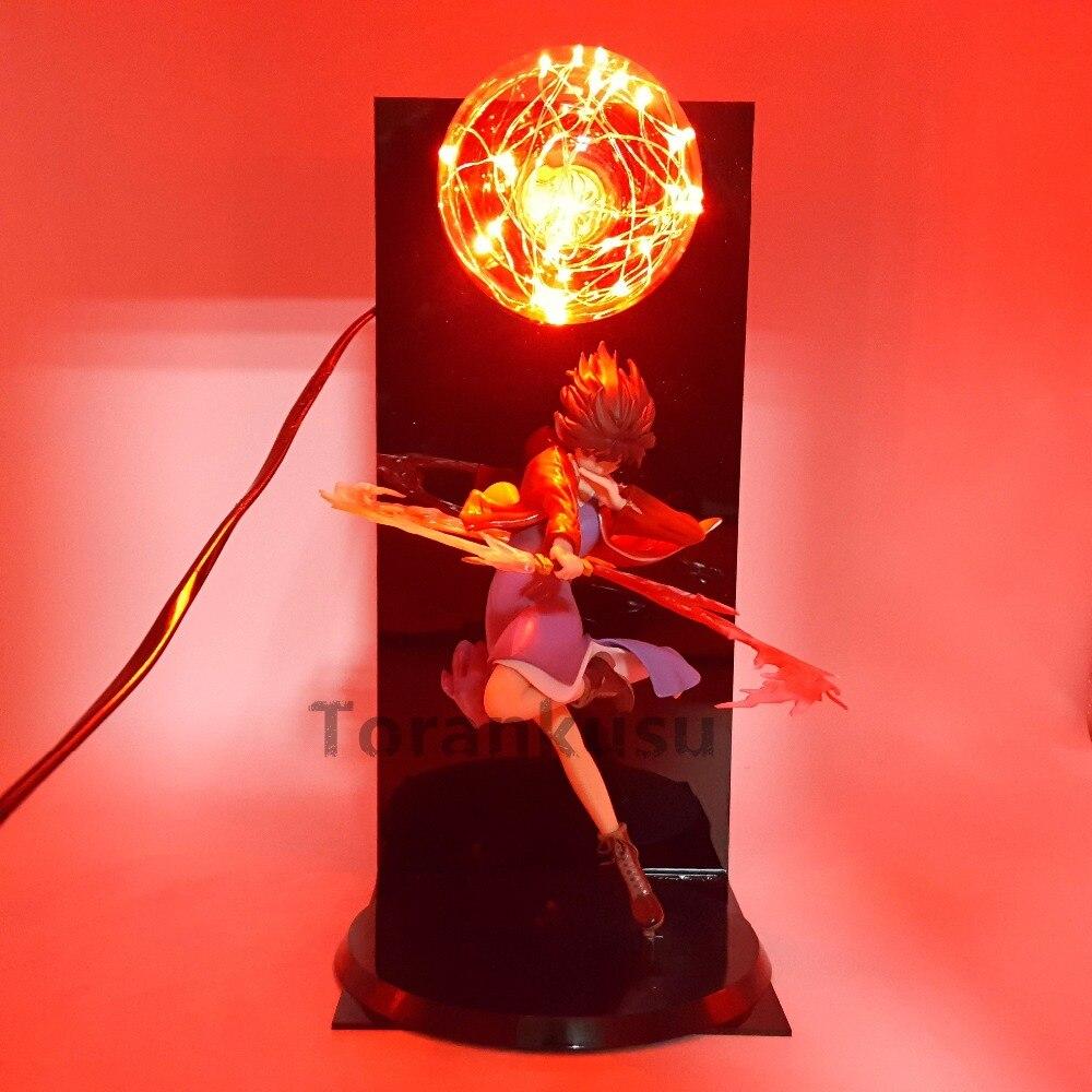 Kara no Kyoukai Led Flash Lighting Action Figure Ryougi Shiki Garden of Sinners Anime Kara no Kyoukai Collectible Model Toys