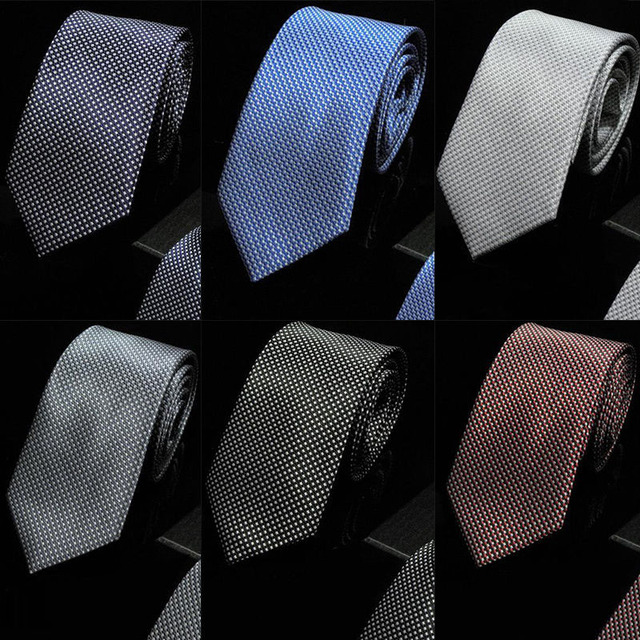 Men's Patterned Silk Dotted Tie