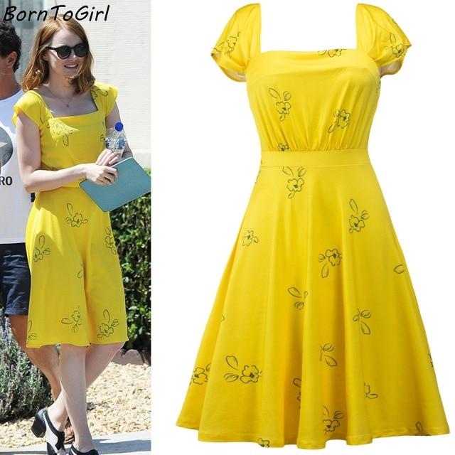 knielange jurk