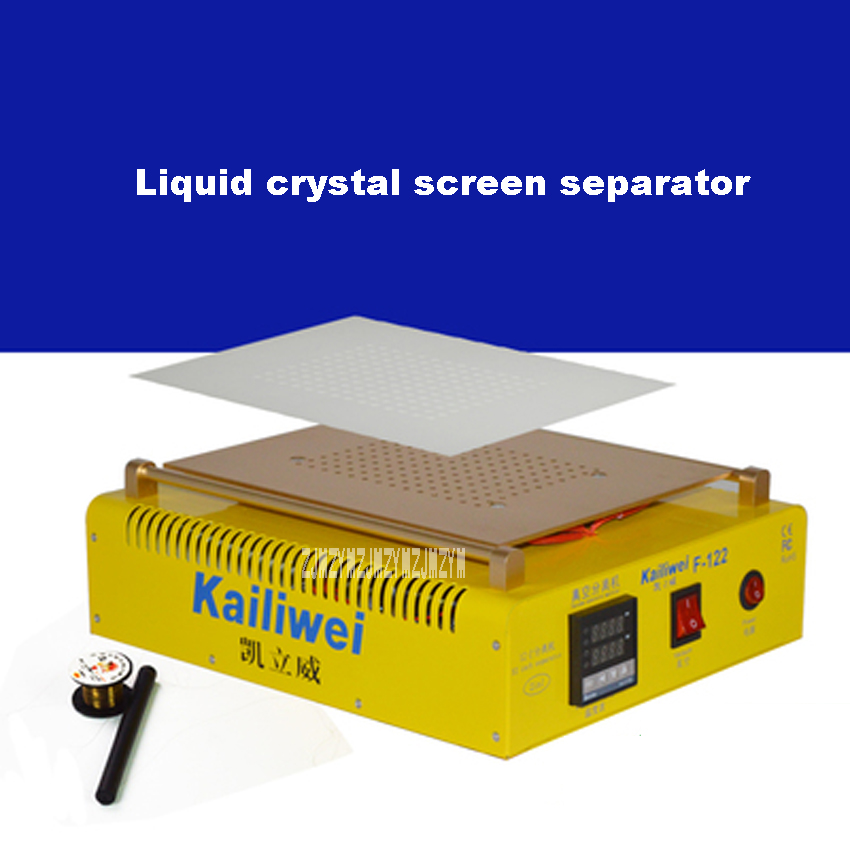 New Arrival 220V 12 Inch Liquid Crystal Screen Separator F122 LCD Screen Touch Display Vacuum Split Screen Separator Hot Selling yppd j018e lg lcd liquid crystal module