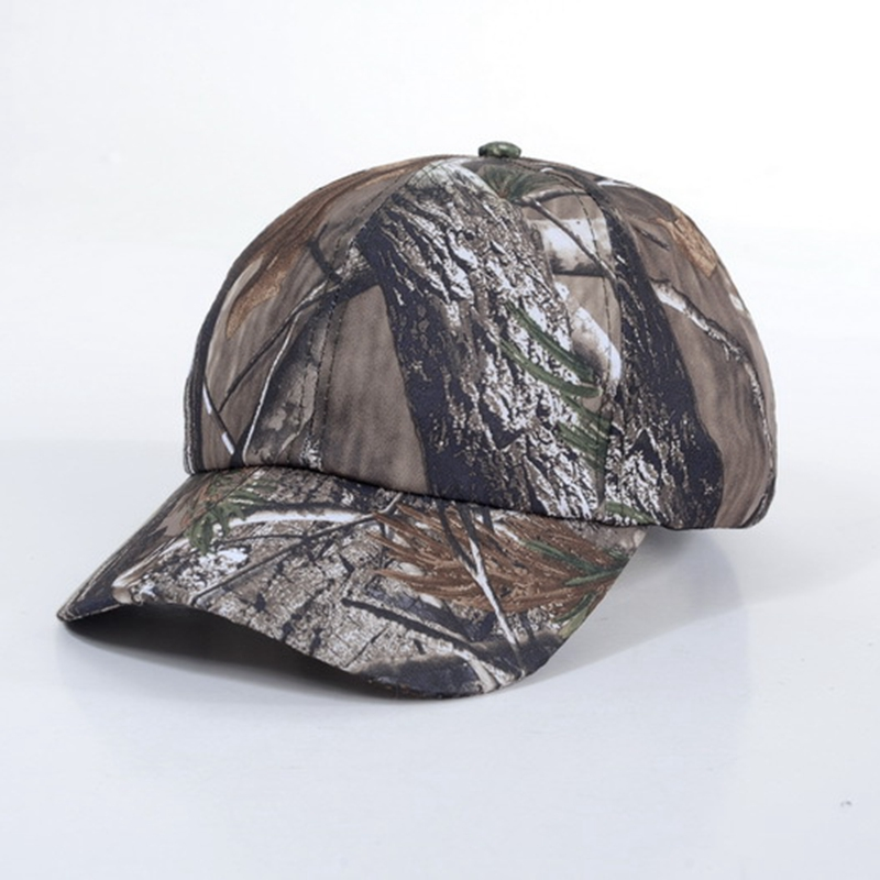 Camouflage Bionic Leaves Cap Breathable Military Camo Tactical Baseball Caps Outdoor Hat Fishing Camping Hiking Hunting Caps D99 Finely Processed Hunting Caps Sports Caps