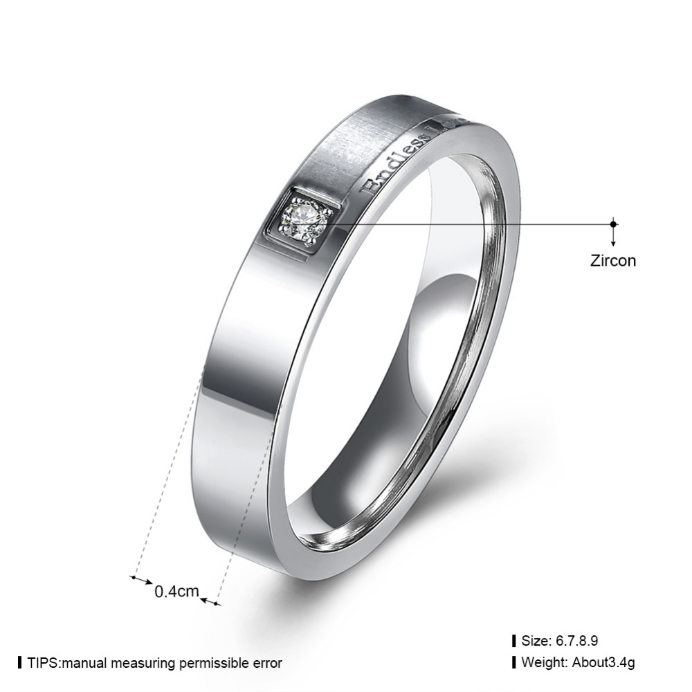 dp amazon jewelry ring couple men s com steel women endless band tone wedding heart stainless love promise inblue silver womens rings