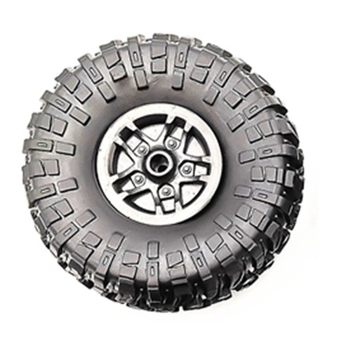 4 pcs RC Car Tires Wheels Rims Set for MN D90 D91 RC Car spare parts Crawler Car Assembled Tyre for Truck Parts & Accessories Karachi