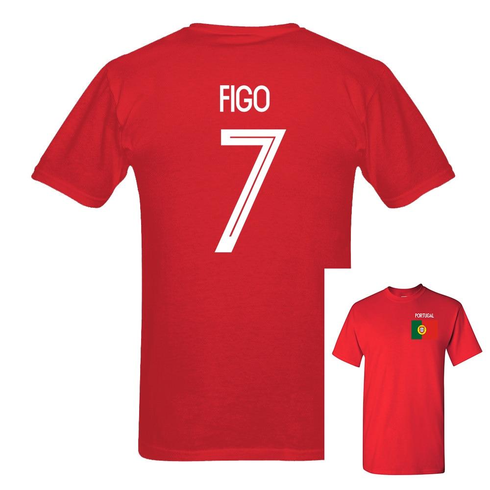 2018 newest portugal figo number 7 russia world match cup. Black Bedroom Furniture Sets. Home Design Ideas