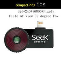 Seek Thermal compact/compact pro/compact XR Imaging Camera infrared imager Night vision for Android and IOS PHONE