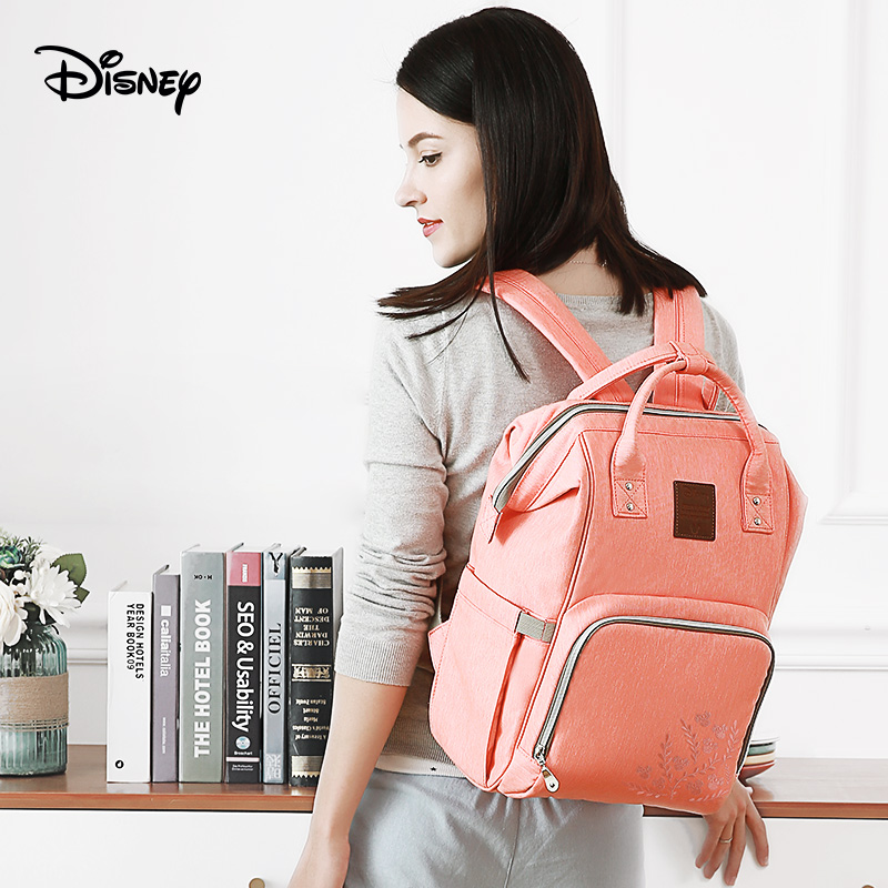 Disney Large Capacity Baby Bag Stroller Diaper Bag Mummy Maternity Nappy Bag Travel Backpack for Baby Care Insulation Bags лонгслив calvin klein jeans calvin klein jeans ca939ewuhm57