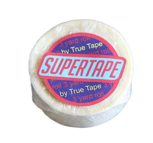 """3/4 """"x 3 야드 최고 테이프 pu 머리핀, toupee / 가발을 % s 도매 머리 질 최고 테이프 이중 테이프"""