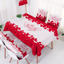 Nordic Style Waterproof Floral Table Cloth for Coffee Dining Home Kitchen Wedding Decoration Table Cover Dustproof Tablecloth