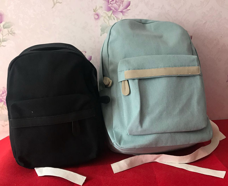 2019 Women Canvas Backpacks Ladies Shoulder School Bag Backpack Rucksack for Girls Travel Fashion Bag Bolsas Mochilas Sac A Dos