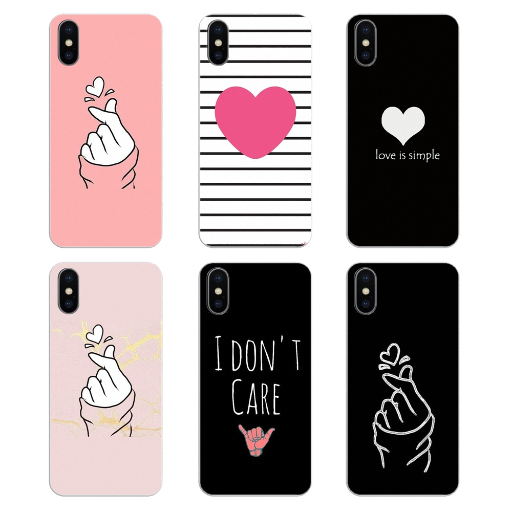 Drawing-Cover S7-Edge S9 Plus White Love Samsung Galaxy S5 Mini Kpop For S2 S3 S4 S6